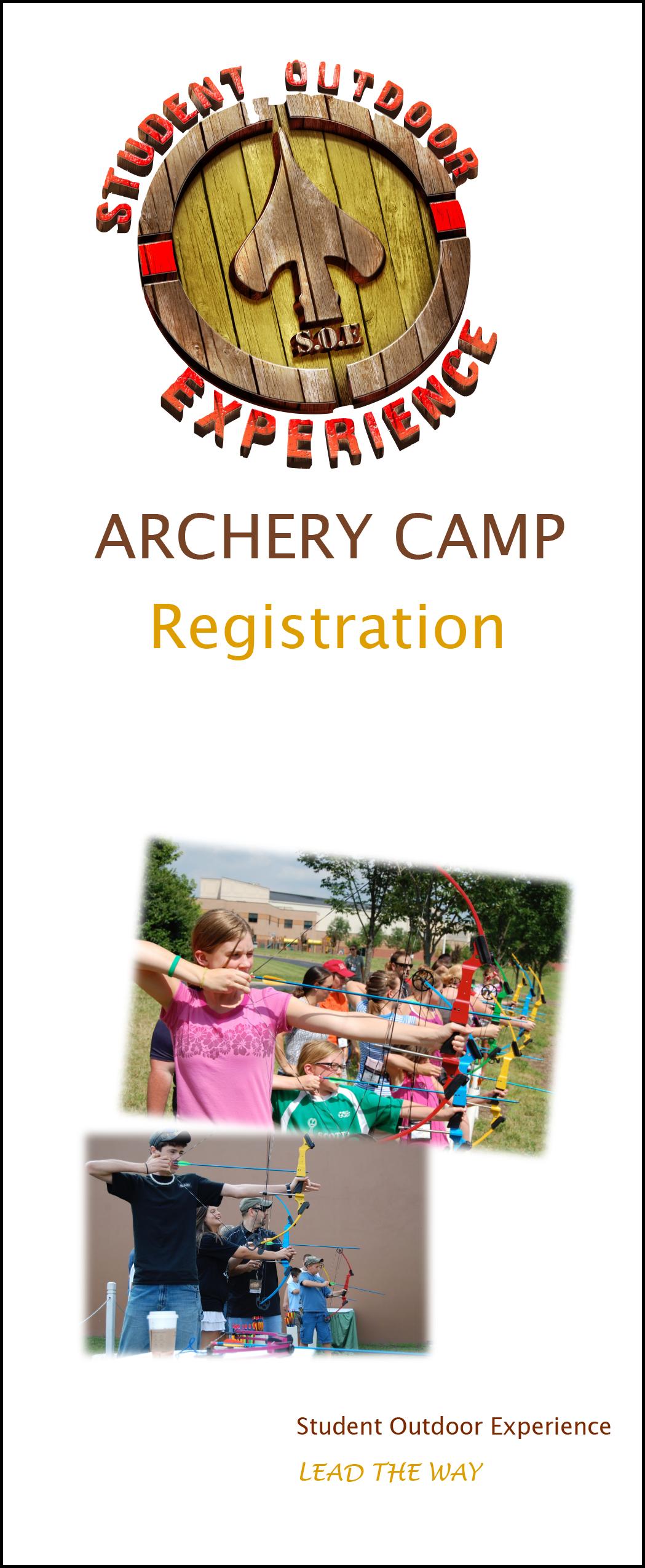 Archery Camp Registration 2016-1